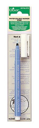 Blue Ink Fine Point Water Soluble Marker