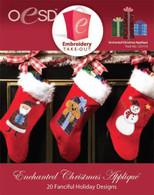 Enchanted Christmas Applique CD