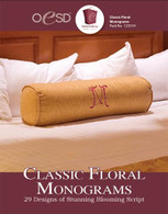 Classical Floral Monograms CD