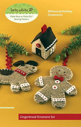 Gingerbread Ornament Set