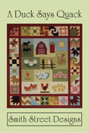 A Duck Says Quack Quilt with CD