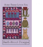 Some Bunny Loves You Wall Hanging & Table Runner with CD