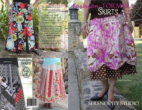 Fashion Formula Skirts, Volume 2 Pattern Booklet