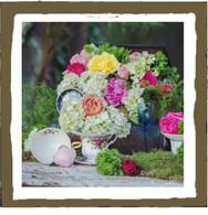 Bohemian rose (tin)