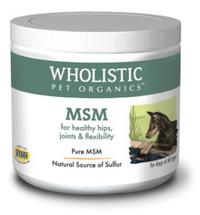 Wholistic MSM- 99.9% Pure, Human-Grade Nutraceutical 8oz