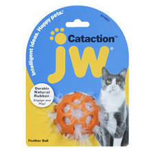 JW Pet Feather Ball - Cat Toy