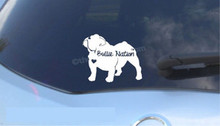 Bullie Nation Car Decal