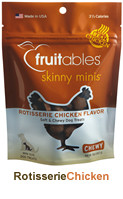 Fruitables Roasted Chicken Tenders Whole Jerky Dog Treats