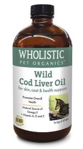 Wholistic Cod Liver Oil 8oz