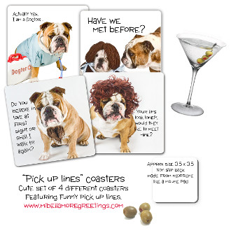 Mi Bellamore Pick up lines Coasters Carolina Pet Pantry