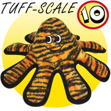 Tuffy Tiger Print Octopus Tuff Scale 10