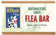 DERMagic Flea Shampoo Bar - Organic with Diatomaceous Earth