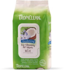 TropiClean Ear Cleaning Wipes 50CT