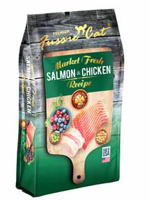 Fussie Cat Market Fresh Salmon w/ Chicken 10