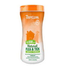 Tropiclean Flea & Tick Carpet Powder