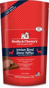 Stella & Chewy's Venison Blend Dinner Patties Raw Frozen Dog Food