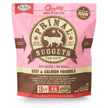 Primal Feline Beef & Salmon Formula 3lb