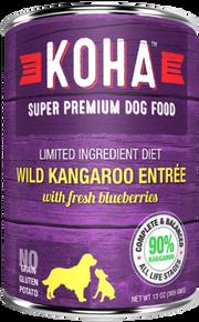 KOHA Wild Kangaroo Dog Food 13oz