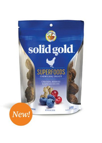 Solid Gold Superfoods Chicken Berries & Ginger 6oz
