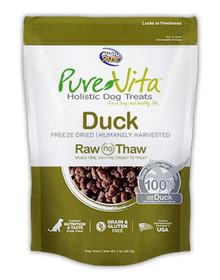 Pure Vita Duck Freeze Dried Treats 2oz