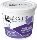 Rad Cat Free- Range Turkey Raw Food 8oz