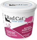 Rad Cat Natural Pork Raw Food 8oz