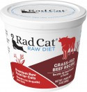 Rad Cat Grass Fed Beef Raw Food 8oz