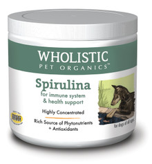 Wholistic Spirulina- A Certified Organic Phytonutrient 4oz