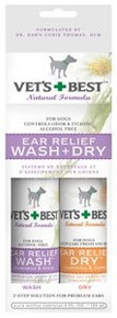 Ear Relief Wash Dry 2pk