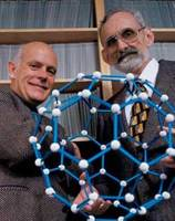 Richard Smalley and Robert Curl —Image credit: Nanotechnology Now