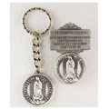 Our Lady of Guadalupe Key Ring & Visor Clip Set