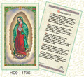 Our Lady of Guadalupe Magnificat - Spanish