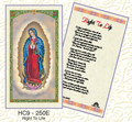 Our Lady of Guadalupe, Right to Life