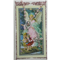 Pink Rosary and Holy Card Set