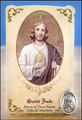 St Jude (Difficult Situations) Healing Holy Card with Medal