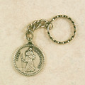 St. Christopher Key Ring Pewter in Gift Box