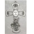 "Pewter Baptism Cross 6"""