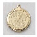 St. Michael Medal - Gold Plated cgbj515mk