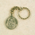 St. Joseph Key Ring Pewter in Gift Box