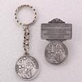 St. Patrick Key Ring & Visor Clip Set