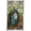 St. Matthew Pewter Medal and Holy Card