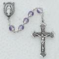 8mm Purple Rosary