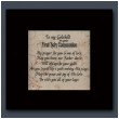 To Godchild at First Holy Communion Plaque