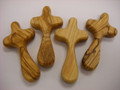 Olive Wood Comfort Cross