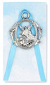 Guardian Angel Crib Medal Blue
