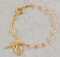 18KT Gold Pearl Bracelet