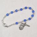 """5- 1/2"""" Blue Baby Bracelet"""