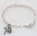 """5-1/2"""" Tincut Rose Baby Bracelet."""