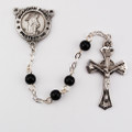 Black Guardian Angel Rosary