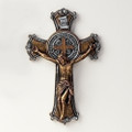 St. Benedict Crucifix Two Tone 10.25